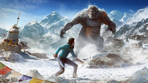 Far Cry 4 Valley of the Yetis Wallpaper Wallpapers   New
