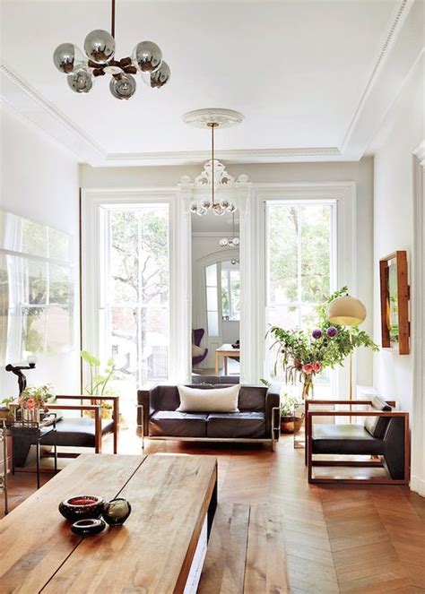 living room brooklyn ny brooklyn brownstone classic features eclectic style