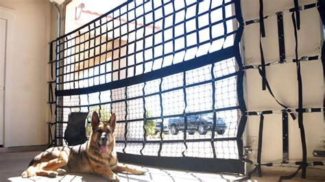 Garage Door Net K9 Garage Door Kennel Net