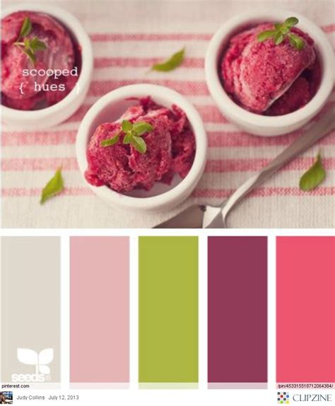 Putting It Together Green Pink by Color Palettes This Combo Of Green And Pink Plums