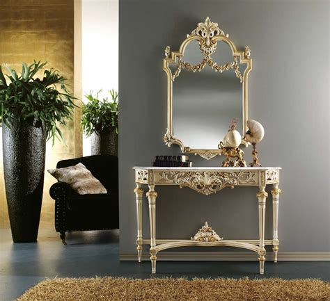 Entryway Wall Mirror 888 Console Table Amp Mirror Set Exclusive To Mondital London Uk
