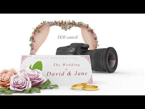 Wedding Intro After Effects Template Photo Album Project Files Youtube Wedding Intro After Effects Templates