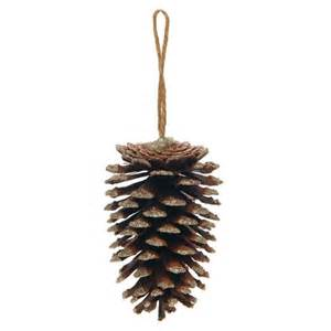 pine cone christmas decoration from wilkinson