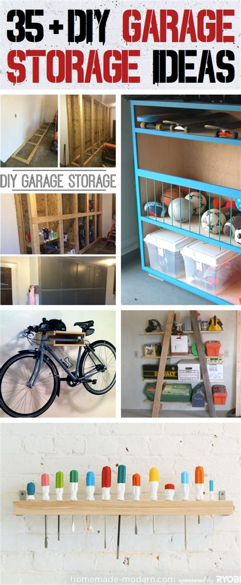 Garage Shelving On A Budget 35 Diy Garage Storage Ideas To Help You Reinvent Your