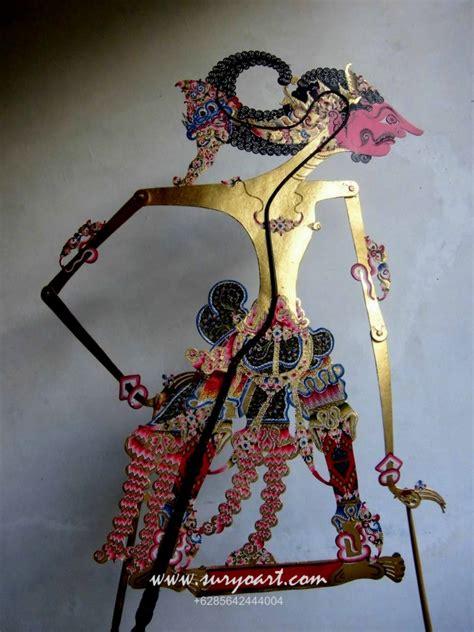 jual wayang kulit java handicrafts suryoart wayang pentas koleksi jual wayang kulit