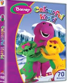 barney colorful world buy barney colourful world dvd