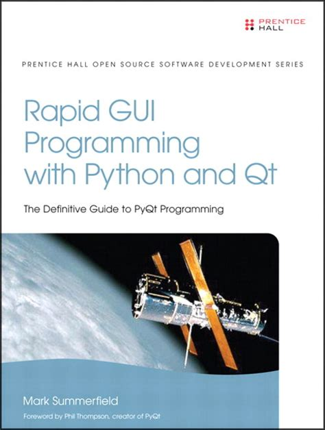qt programming ebook rapid gui programming with python and qt free ebook the