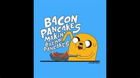 Kaos Adventure Time Bacon Pancakes troskot adventure time bacon pancakes dubstep hardstyle