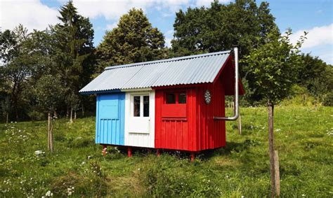 is building a house cheaper than buying one france is a 1 200 tiny house that snaps together in just 3 hours inhabitat