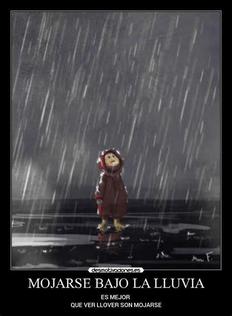 imagenes chistosas bajo la lluvia mojarse bajo la lluvia desmotivaciones