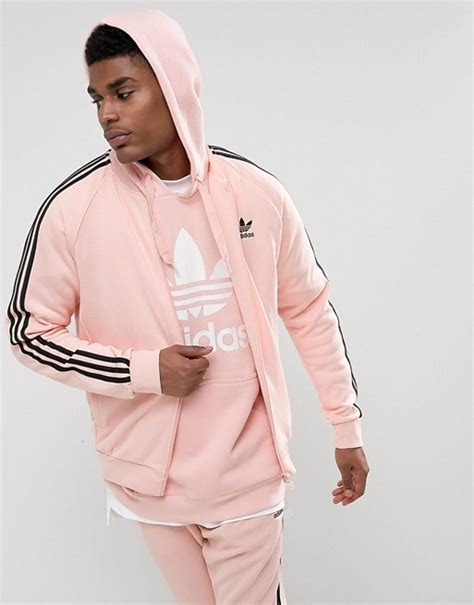 Jaket Adidas Stripe Sing Big Size adidas originals adidas originals superstar track jacket in pink bs4491