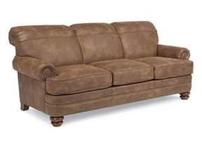 flexsteel living room nuvoleather sofa n7791 31