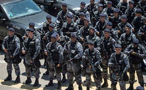 brazil military police uniform rio de janeiro beefs up security ahead of brazil