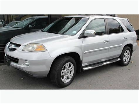 2006 acura mdx 7 passenger suv in excellent condition