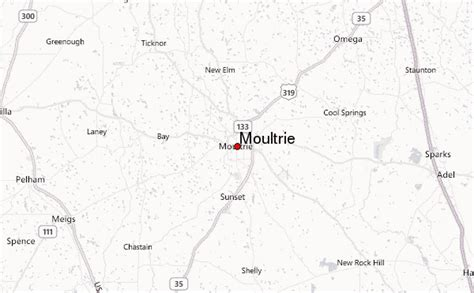 map of moultrie moultrie location guide