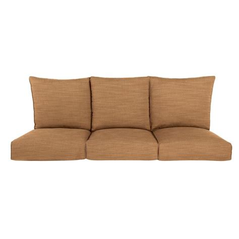 replacement garden sofa cushions brown highland replacement outdoor sofa cushion in