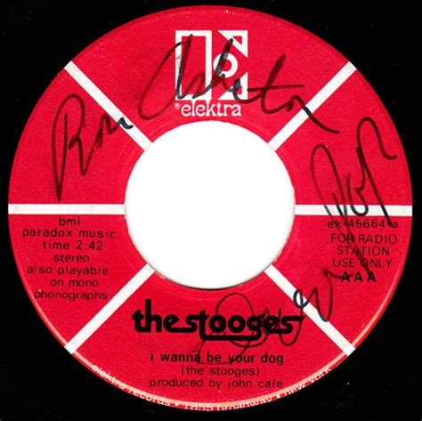 the stooges i wanna be your the stooges signed i wanna be your 45