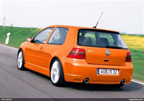 orange volkswagen gti 2004 vw r32 tropic orange golf vw gti r