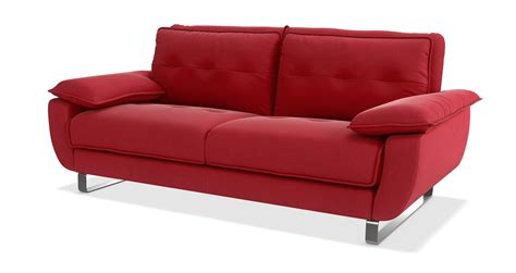 dfs bed settee dfs fling red fabric 3 seater sofa bed ebay