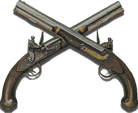 crossed revolvers tattoo crossed pistols