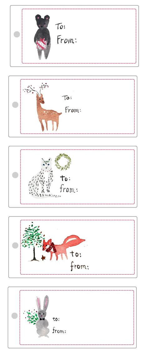 free printable christmas cat gift tags 240 best christmas labels and christmas label templates