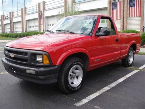 1996 chevrolet s10 used 1996 chevrolet s10 regular cab for sale stock
