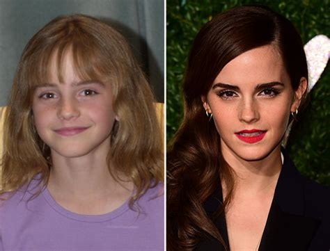 emma watson then and now 6 harry potter stars then and now