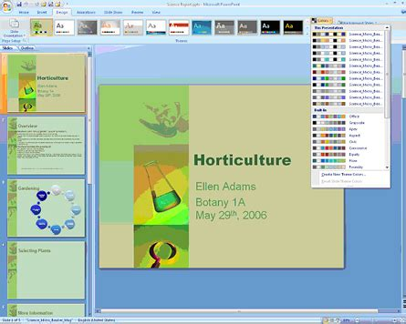 Download Themes Untuk Microsoft Powerpoint 2007 | download template untuk powerpoint 2007