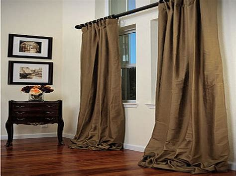 Long Curtain Rods » Home Design 2017