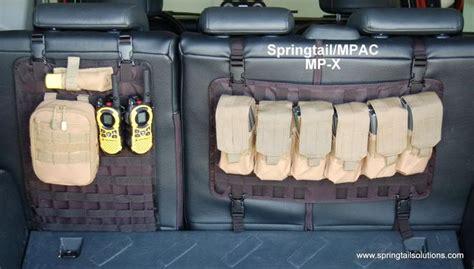 P Diddy Sneaks A Peak At Biels Rack by Sneak Peak Springtail Mp X Seat Back Molle Panel Toyota