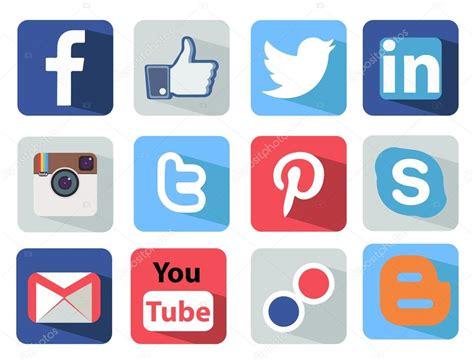 imagenes redes sociales iconos iconos de redes sociales establecen ilustraci 243 n m 225 s