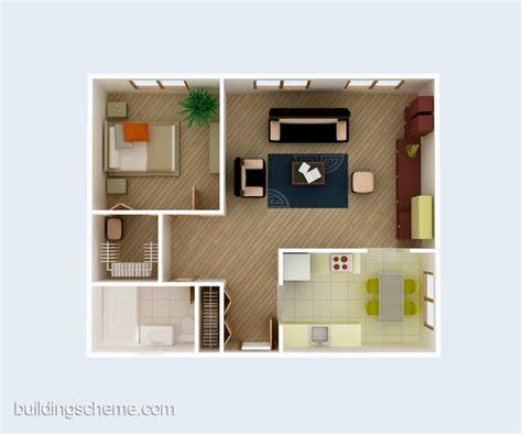 house plans 3d view