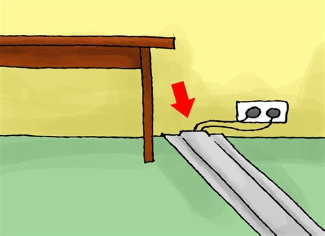 The Cable Carpet Hide Wires In Style by How To Hide Speaker Wires 4 Steps With Pictures Wikihow