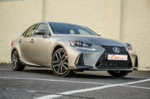 Lexus 350 F Lexus Is 350 F Sport 2017 Review Cars Co Za