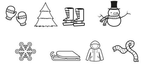 imagenes de invierno infantiles para colorear im 225 genes de invierno dibujo para colorear e imprimir