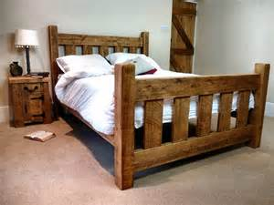 rustic bed frame rustic log bed 1 wooden log bed frame plans diy