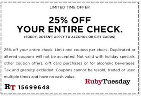 printable job application for ruby tuesdays ruby tuesday printable coupons december 2014