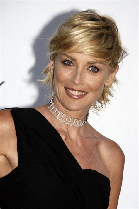 sharon stone short hair on round face 168 best supersexy sharon stone images on pinterest