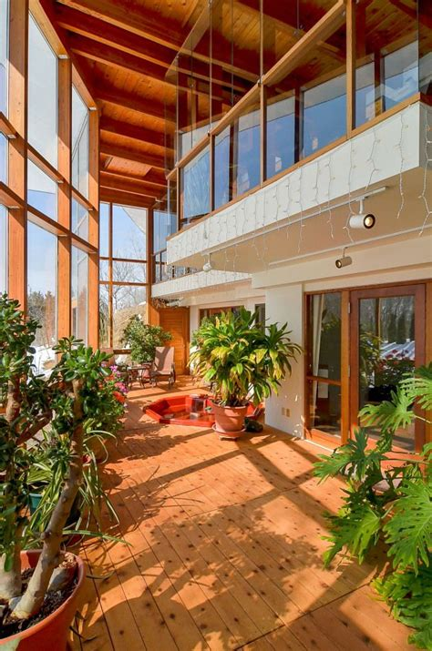 passive solar atrium google search solar houses earth