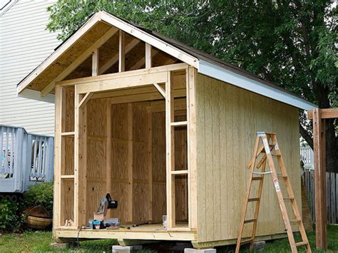 Wood Shed Building by Wood Outbuildings Wood Storage Sheds Building Plans Easy