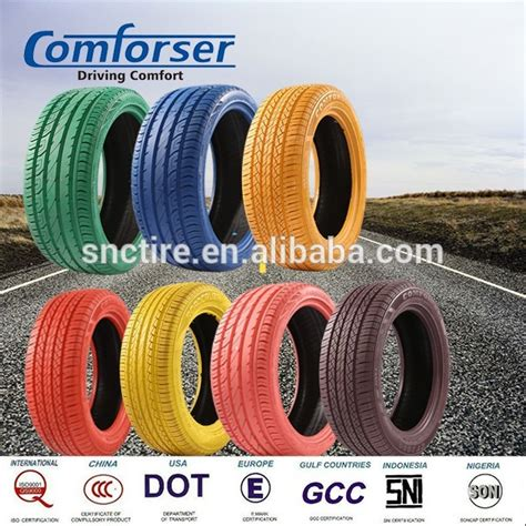 colored car tires china top car brand comforser cheap new colored passenger