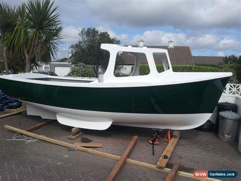 pilot boat for sale 18 ft plymouth pilot new build project fishing boat