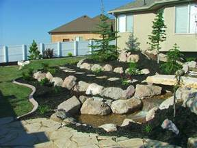 landscaping with rocks landscape pictures chris