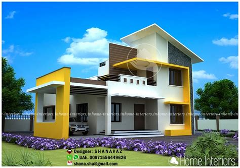 3974 sq ft double floor contemporary home designs 1994 square feet double floor contemporary home design