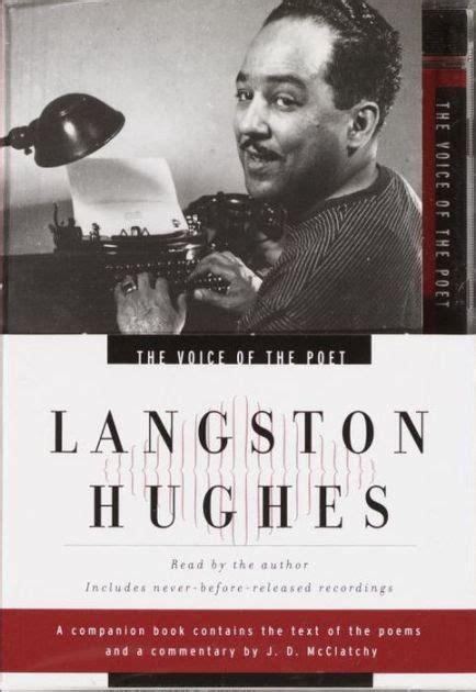 langston hughes printable biography the voice of the poet langston hughes by langston hughes