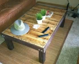 How To Make A Wooden Coffee Table How To Make A Cheap Coffee Stained Wood Pallet