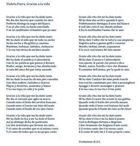 canzoni violetta con testo caponnetto poesiaperta violeta parra 171 gracias a la vida 187