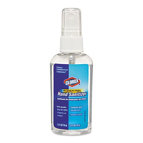 clorox bleach  hand sanitizing spray  oz spray