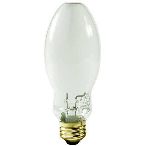 mercury vapor coated light bulb 100w medium e26 base ansi
