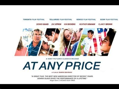 film drama zac efron drama at any price trailer dennis quaid zac efron
